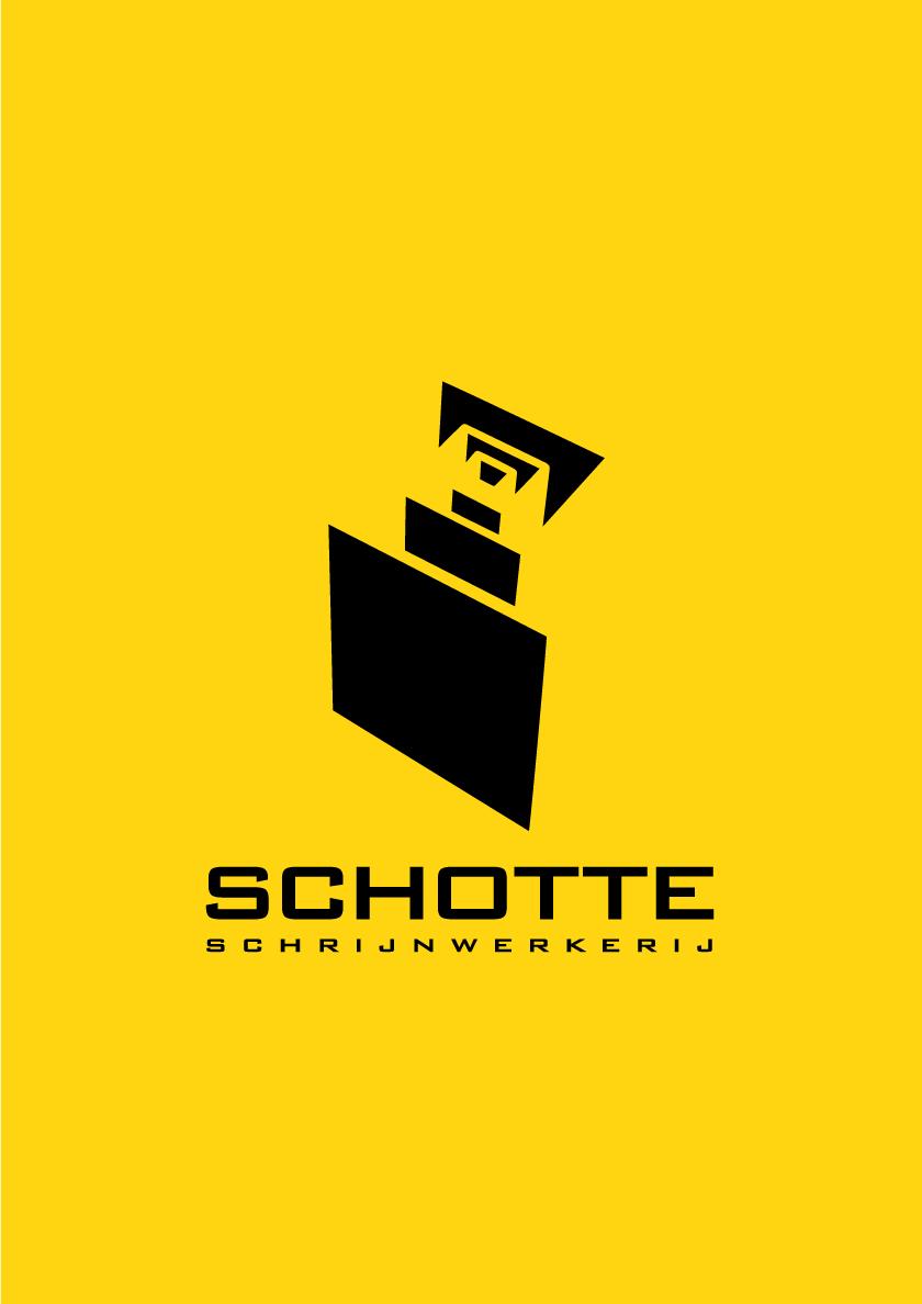 Het logo van Schotte schrijwerkerij uit Ruiselede