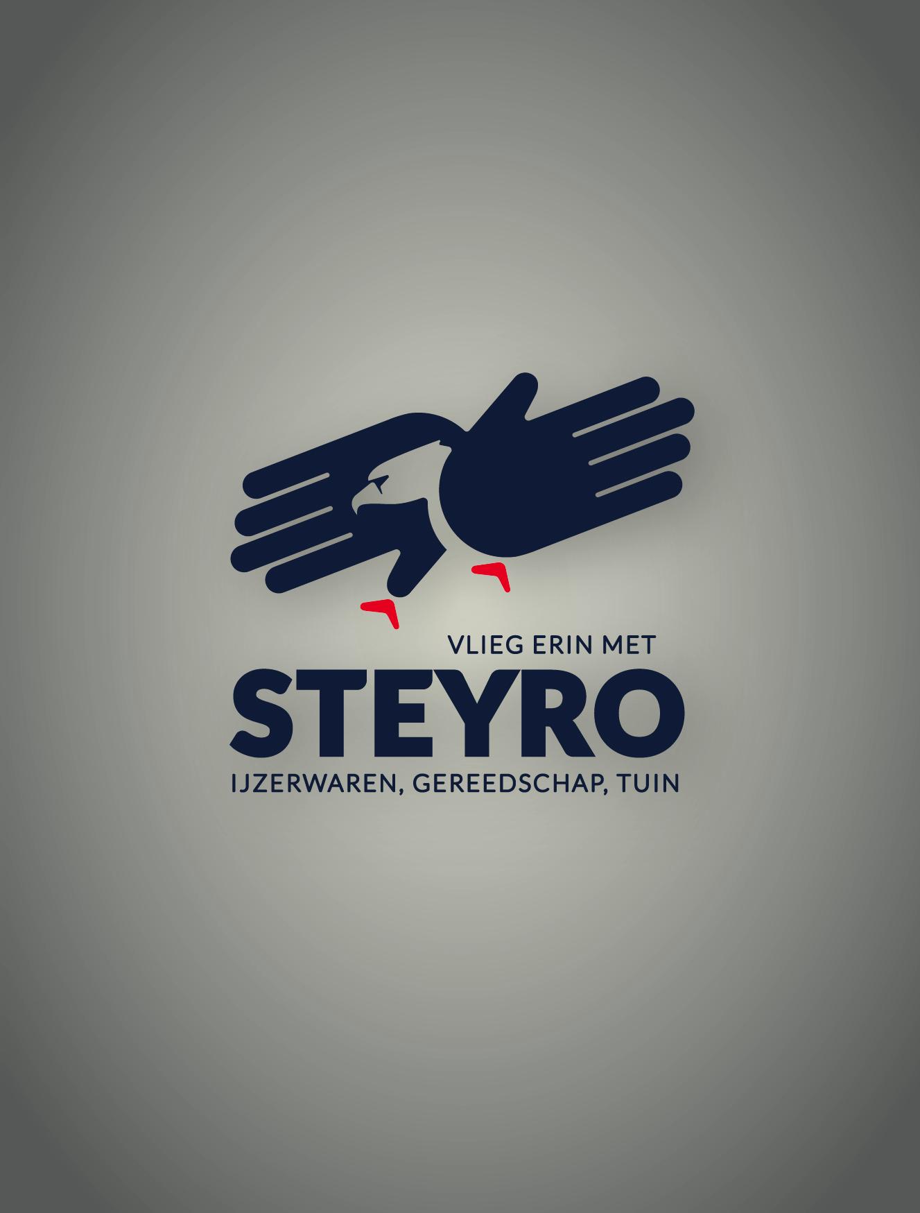 Doe het zelf zaak Steyro helpt je erin te vliegen. Vlieg erin met Steyro Aalter