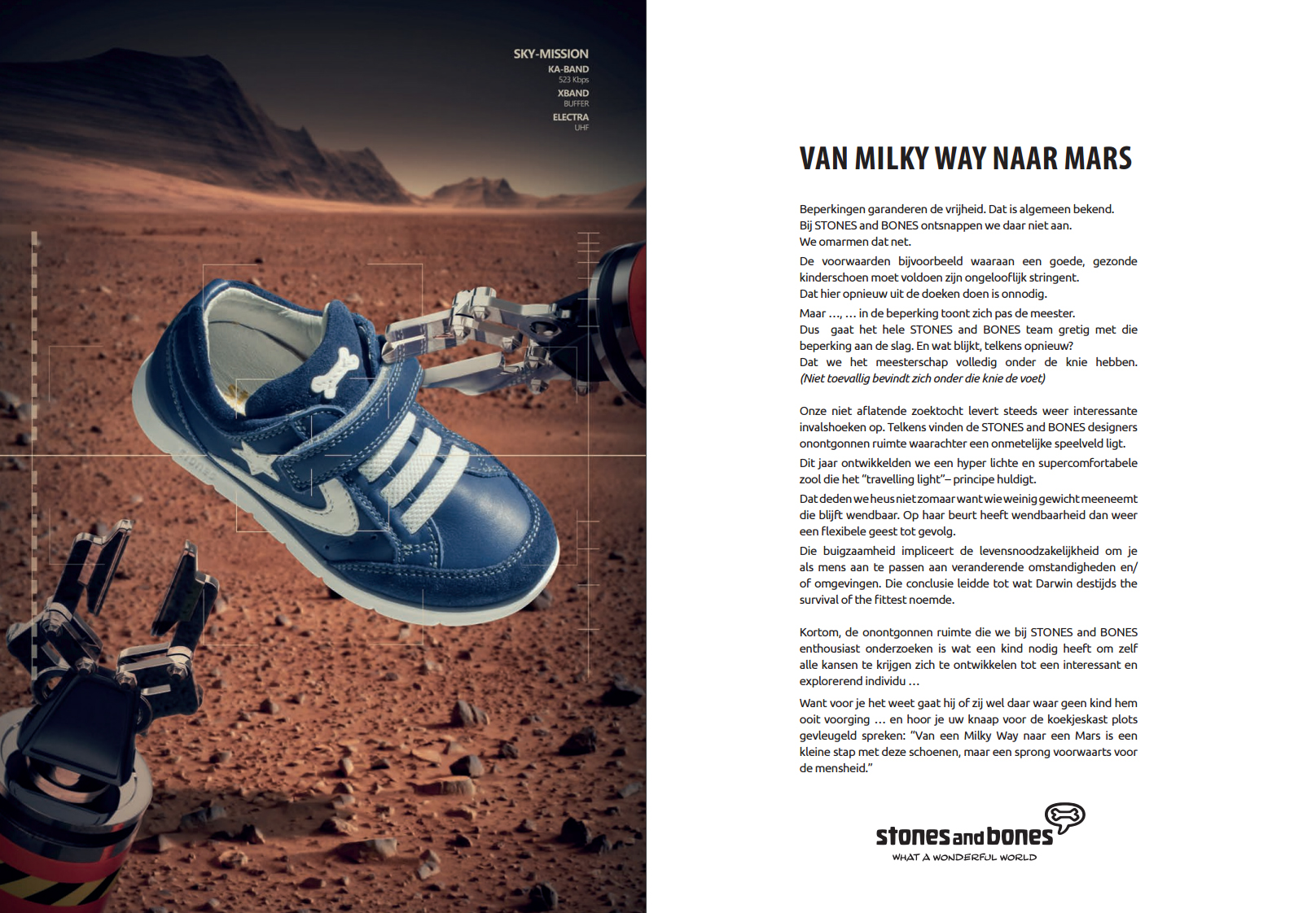 Van Milky Way tot Mars ...