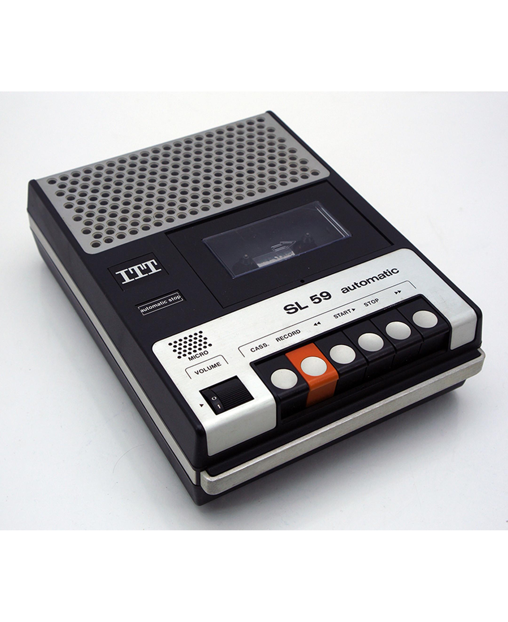 ITT cassette speler