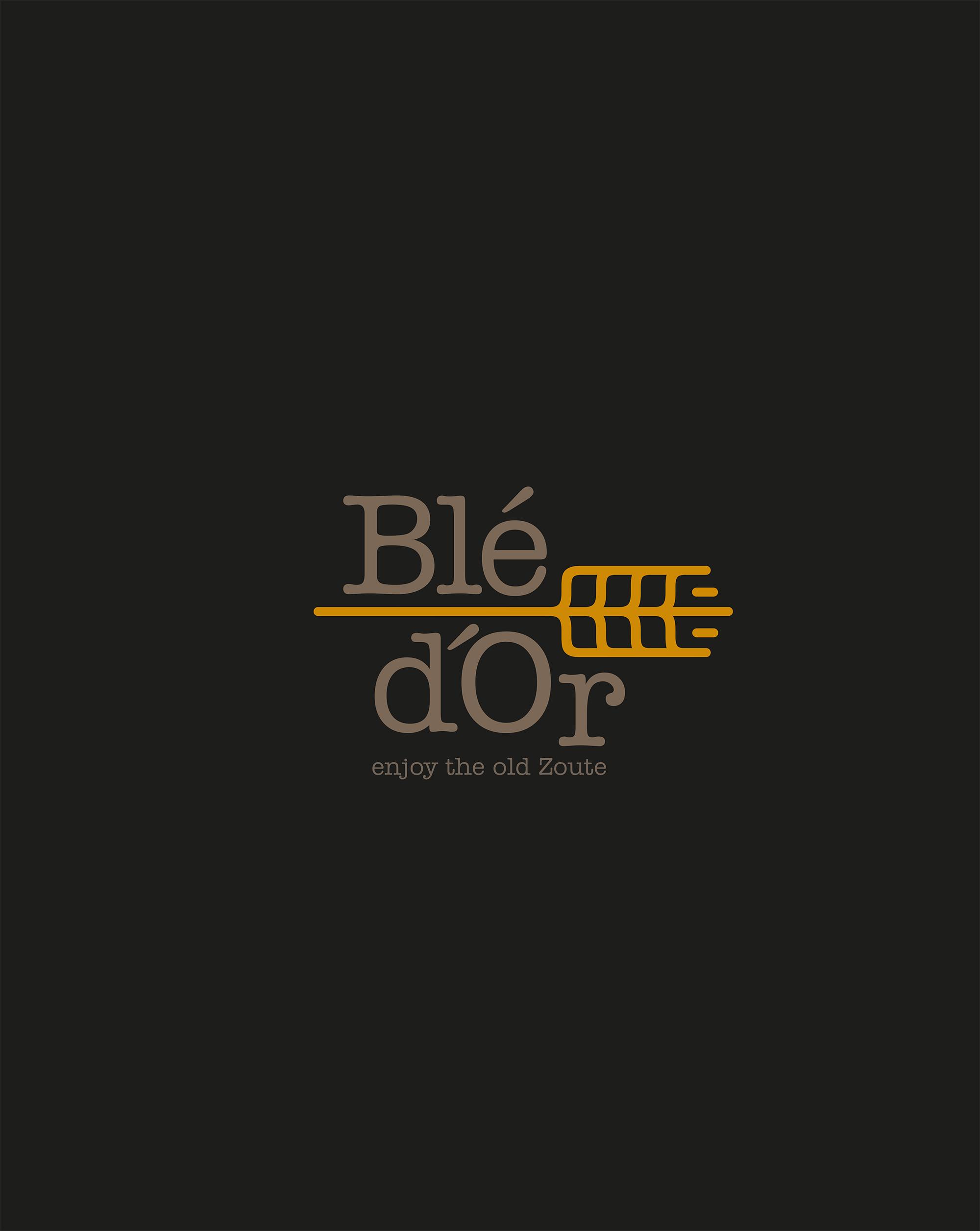 Logo en baseline Blé d'Or